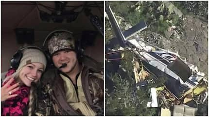 Newlyweds' helicopter crashes whilst on route to their honeymoon