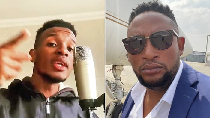 Max Lichaba demands R500k from stepson for scathing diss track