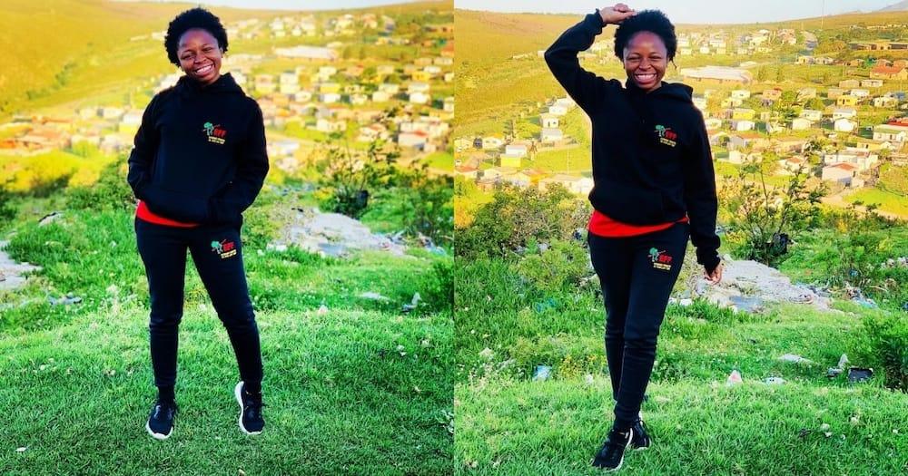 Naledi Chirwa is a little girl's inspiration
