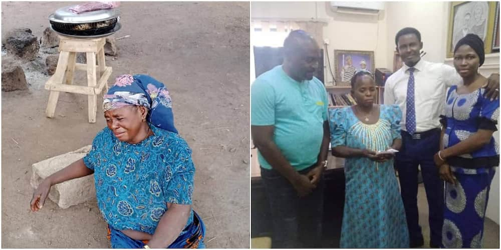 Nigerian Petty Trader who Wept Bitterly after Her Fish was Stolen Receives Help from Good Samaritans