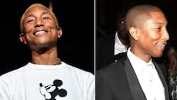 Soft life: Pharrell Williams is living it up on his Venice vacay
