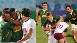 Springboks smash Georgia 40-9 in 1st International match since 2019 Rugby World Cup