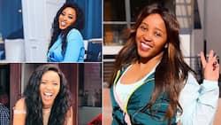 Sbahle Mpisane already working on her fitness amid Mzansi lockdown