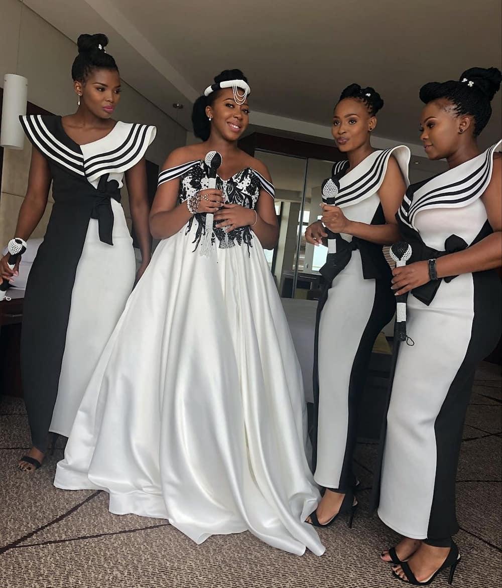 Xhosa bridesmaids dresses South Africa