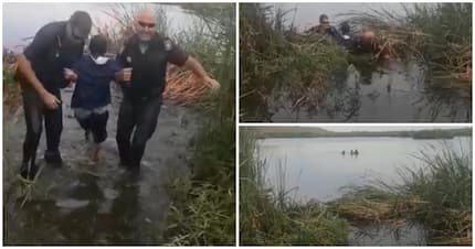 Heroic SAPS rescue caught on camera: Brave cops save man from drowning