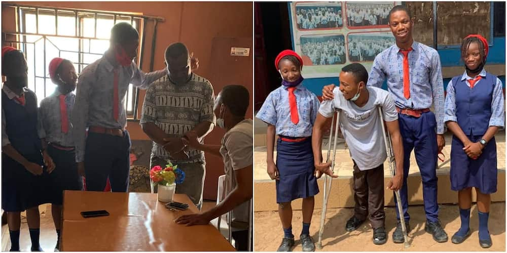 Michael Showunmi, Physically challenged, cancer, siblings