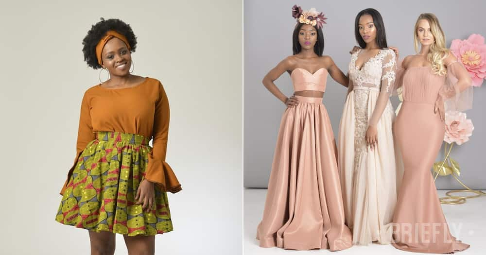 High fashion designer Tsholanang who started from small beginnings making big moves