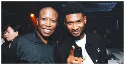 Juju hangs out at Taboo with megastar Usher: 'Don't tell Rupert'