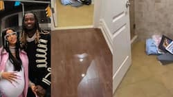 Cardi B disclose her R79m Atlanta home flooded during hurricane Ida, shares footage