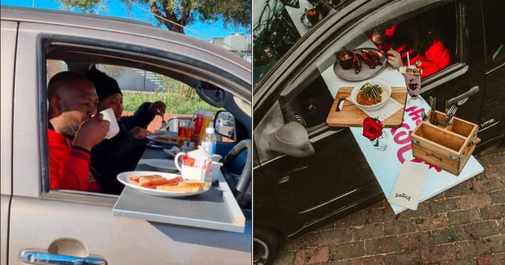 South African restaurants implement parking lot roudhouses.