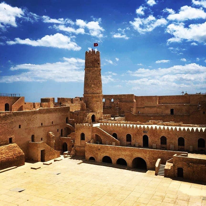 North Africa castles