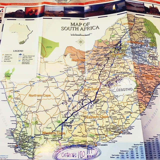 Capital cities of South Africa