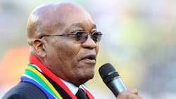 Former President Jacob Zuma speaks publicly since release from prison, supporters say they won't vote ANC