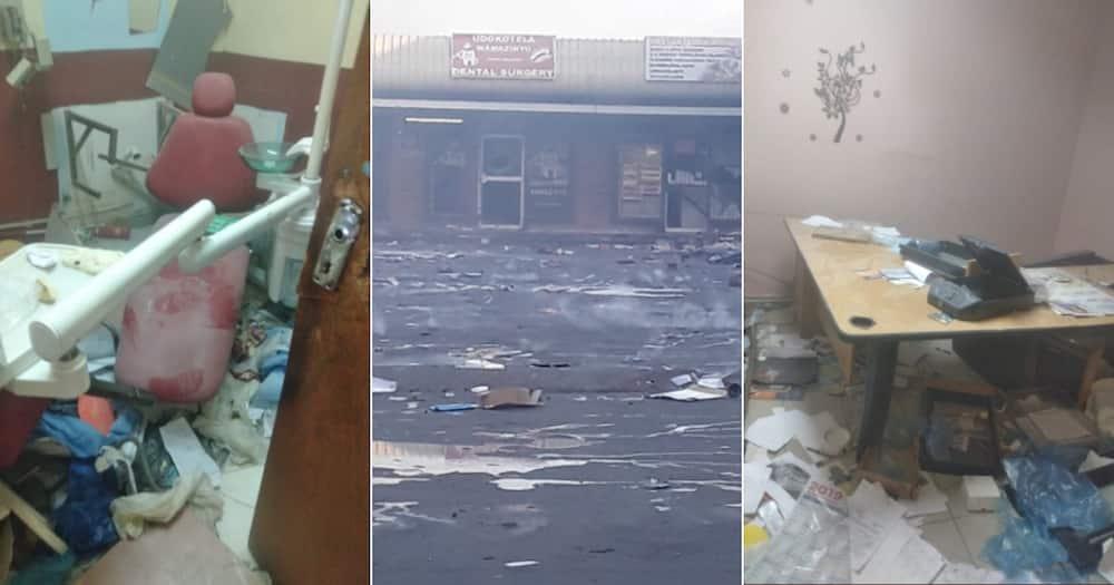 Livelihoods Lost, Sad posts, Looting, South Africa