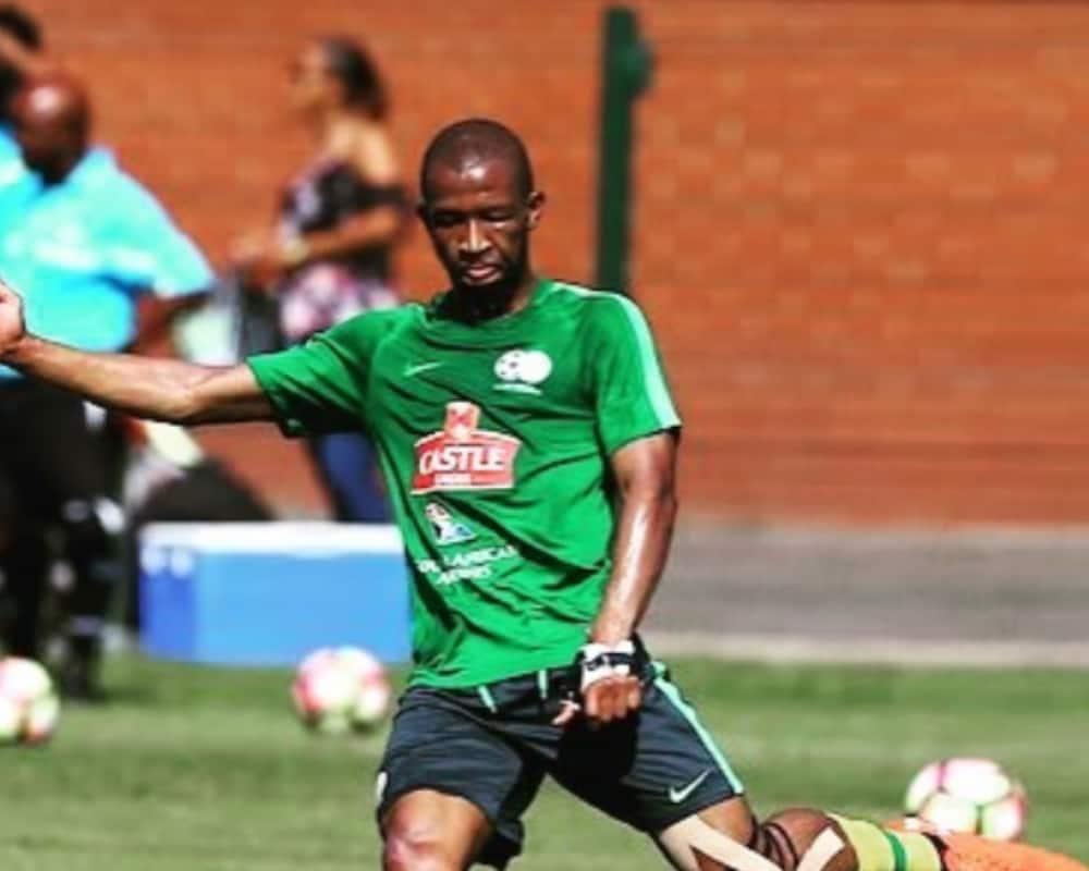 "Bafana Bafana and Brentford midfielder Kamohelo Mokotjo has been named in PEC Zwolle's ""All-Star"" team. Image: Instagram kamoxmokotjo"