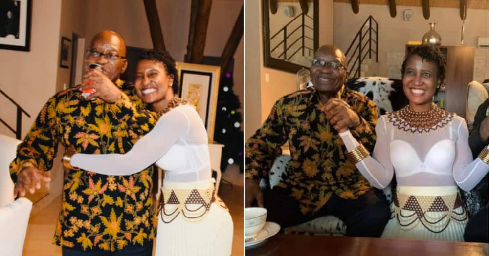 Duduzile Zuma Shares Snaps of Her Dad's Legal Team, Mzansi Has Mixed Reactions