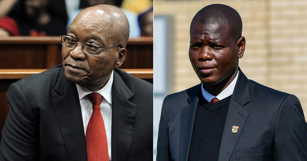 Ronald Lamola, Jacob Zuma, compassionate leave, Minister of Justice and Correctional Services, Khaya Zuma, Michael Zuma, Nkandla