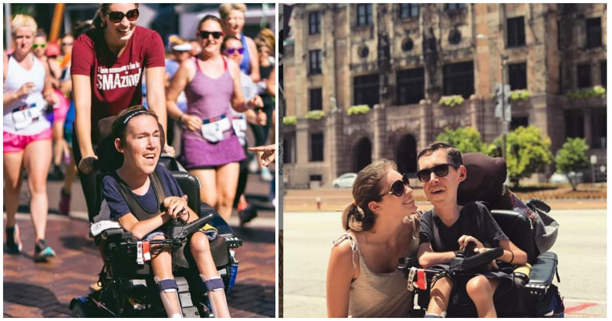 Disabled man and his bae break stigma about disability through vlog