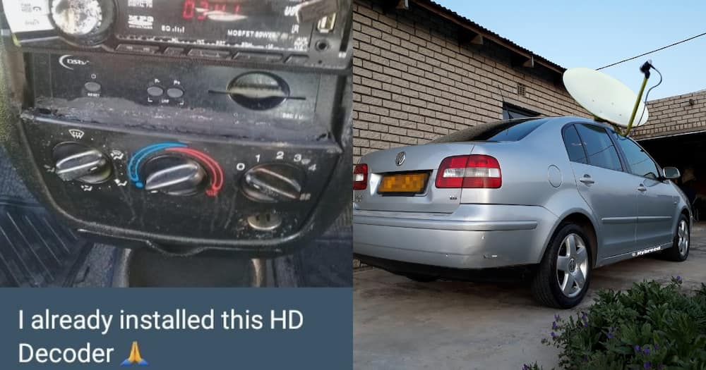 Polo driver's hilarious DSTV in car request leaves Mzansi in tears