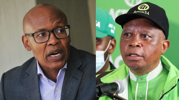 """Battle of words by Herman Mashaba and Mzwanele Manyi causes buzz: """"The gloves are off"""""""