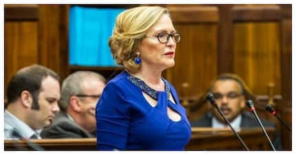 Helen Zille's dog allegedly attacked officer guarding her home