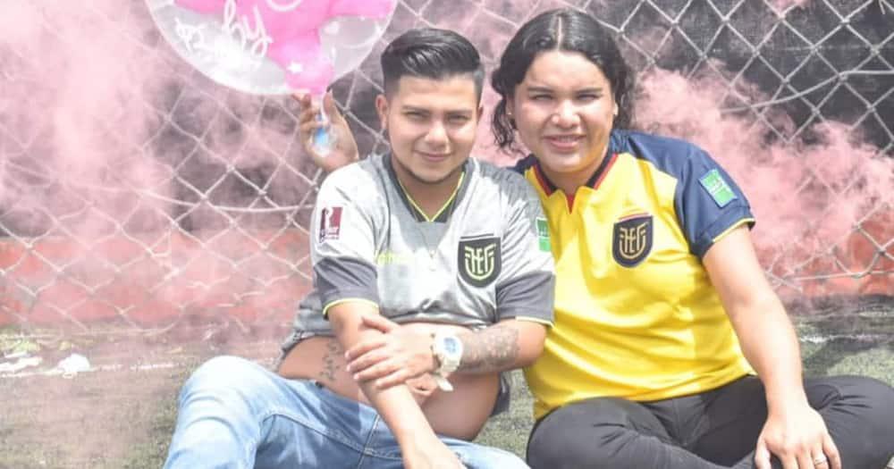 Ecuadorian Politician Celebrates as Transgender Husband Prepares to Give Birth to Their Baby Girl