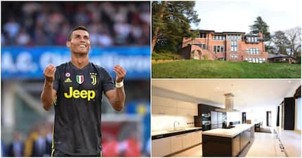 A look at Cristiano Ronaldo's R62million palatial Manchester home