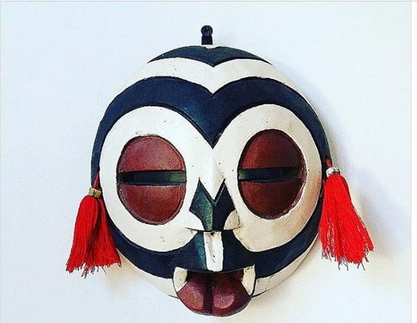 African tribal masks Biombo mask