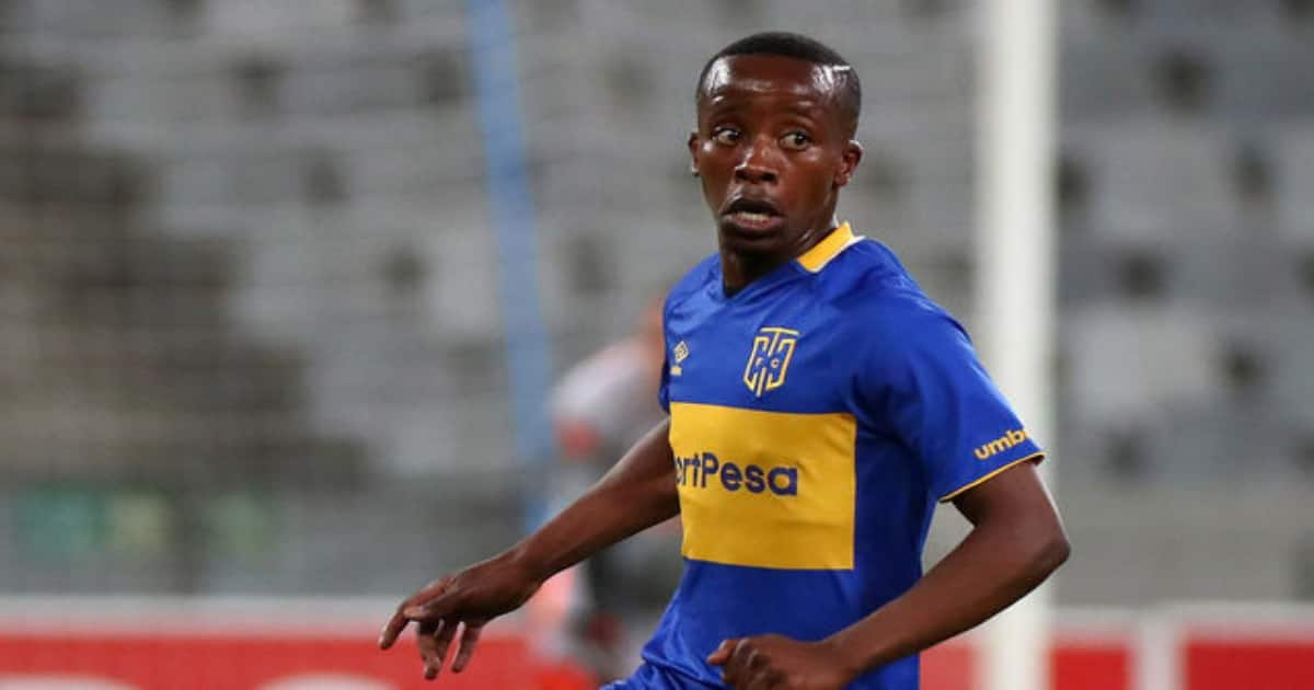 Thabo Nodada destined for greater things according to Benni McCarthy