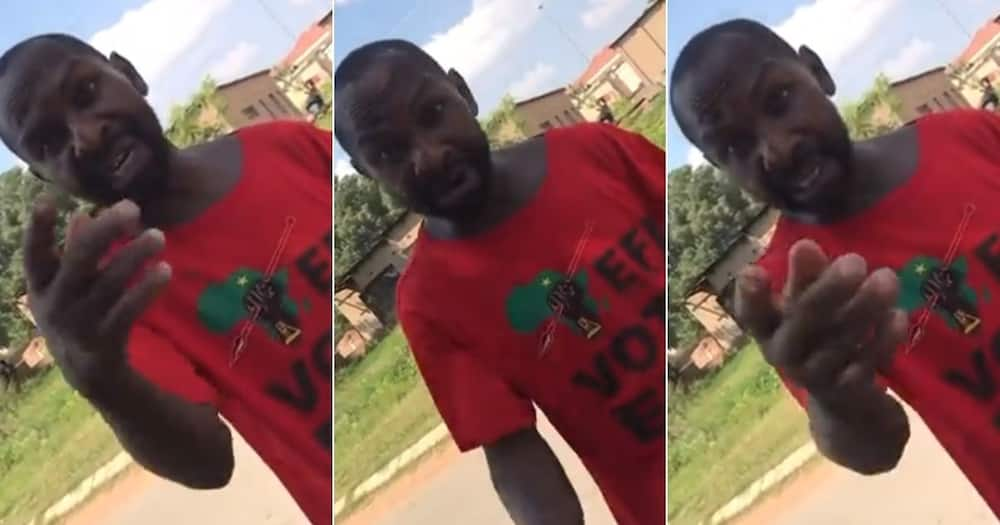 EFF Supporter, Schools Man, Who Tried, to Mock Him, Gets Julius Malema's
