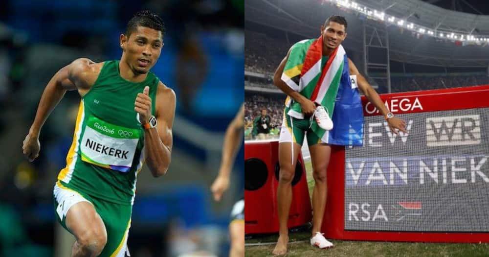 SA's Wade Van Niekerk makes winning return to international races