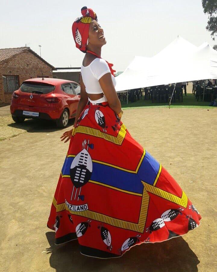 Swazi traditional wedding dress