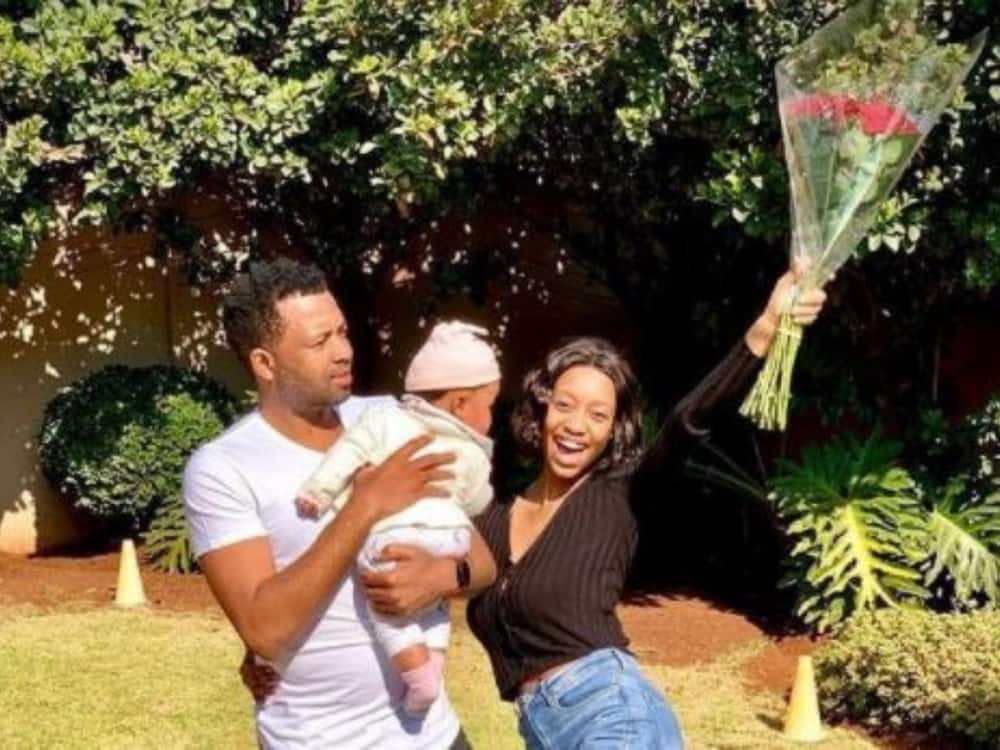 Itumeleng Khune and his wife Sphelele are going strong.