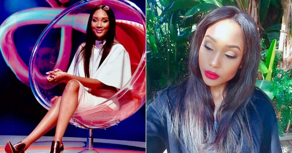 Zoe Mthiyane allegedly breaks down after split with Rapulana Seiphemo