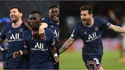 Lionel Messi scores as PSG defeat Manchester City in intense Champions League fixture