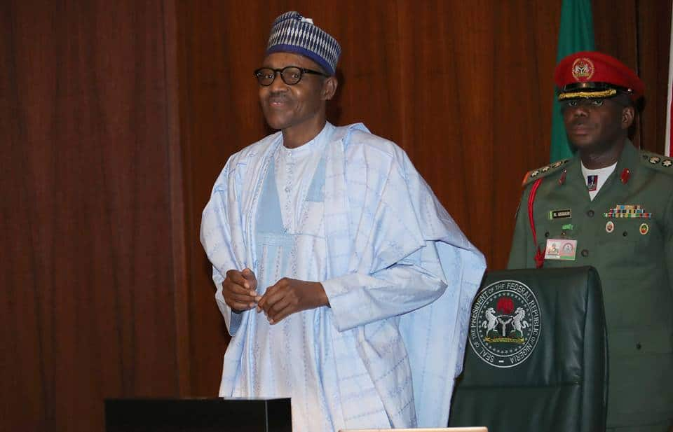 Muhammadu Buhari way Abuja