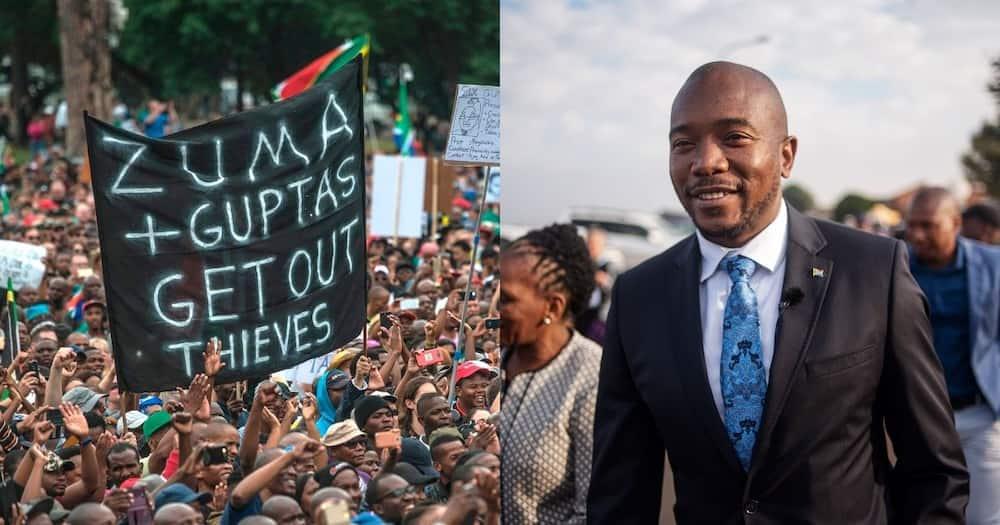 Mmusi Maimane believes Guptas still have their hands in Eskom