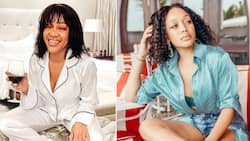 Thando Thabethe finishes quarantining after testing positive for Covid 19 and fears what's on the outside