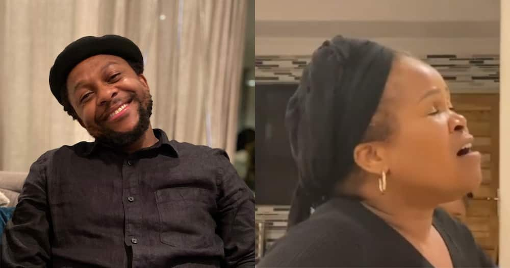 Mbuyiseni Ndlozi Honours Mom on Mother's Day With Clip of Her Singing