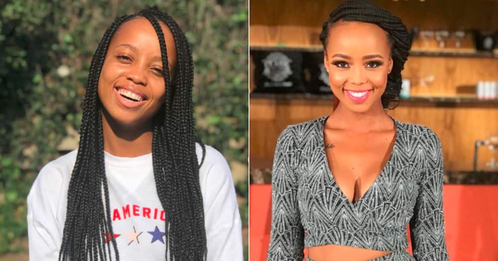 Ntando Duma shares juicy snaps and fans wonder who the man is