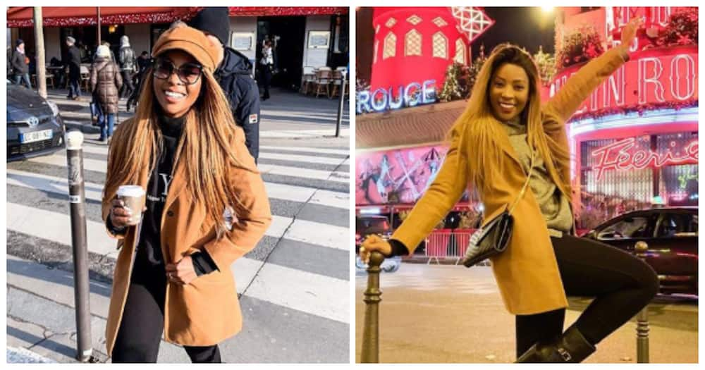 Pearl Modiadie explains she's decided to keep baby's name to herself
