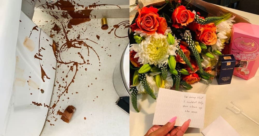 Boyfriend goals: Woman's bae spoils her after she dropped her foundation Pls export