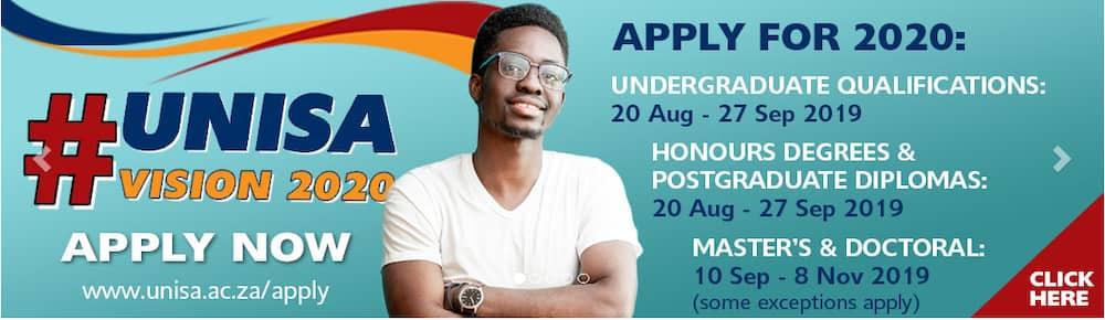 unisa application 2019