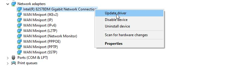 hp laptop problem with wireless adapter or access point