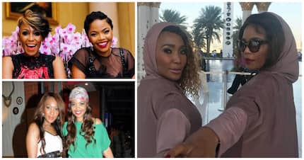 Mampho Brescia and Terry Pheto hit it off the moment they met