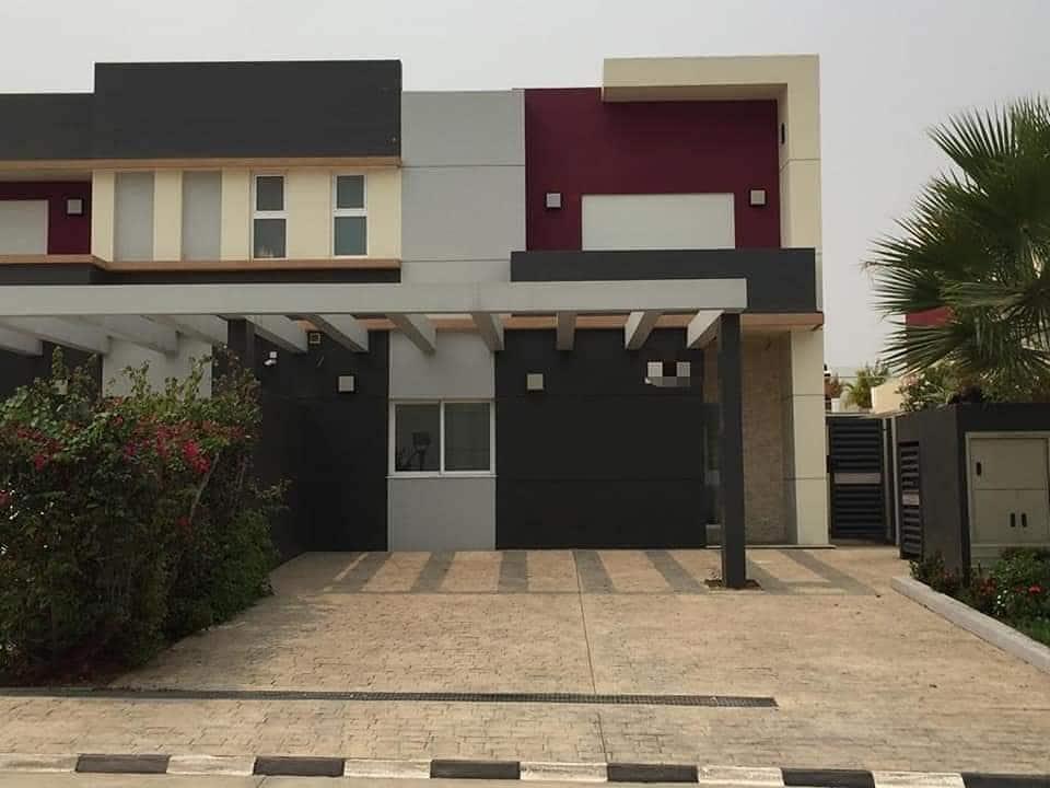 Expensive neighborhoods in Africa