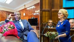 While everyone wished Maimane happy birthday Zille was throwing shade