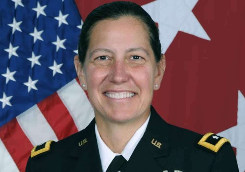 Jody J Daniels becomes US 1st female chief of army reserve and commanding general