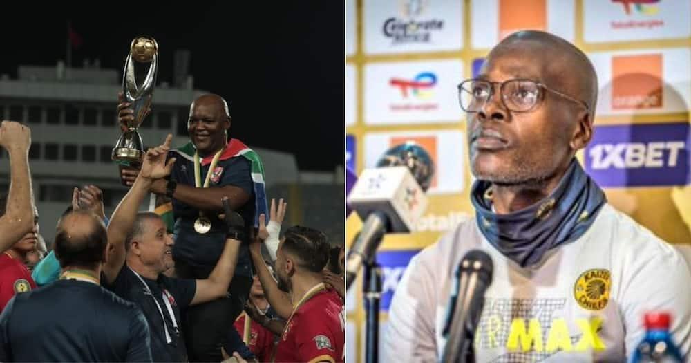 Al Ahly, Pitso Mosimane, Arthur Zwane, Kaizer Chiefs, Champions League