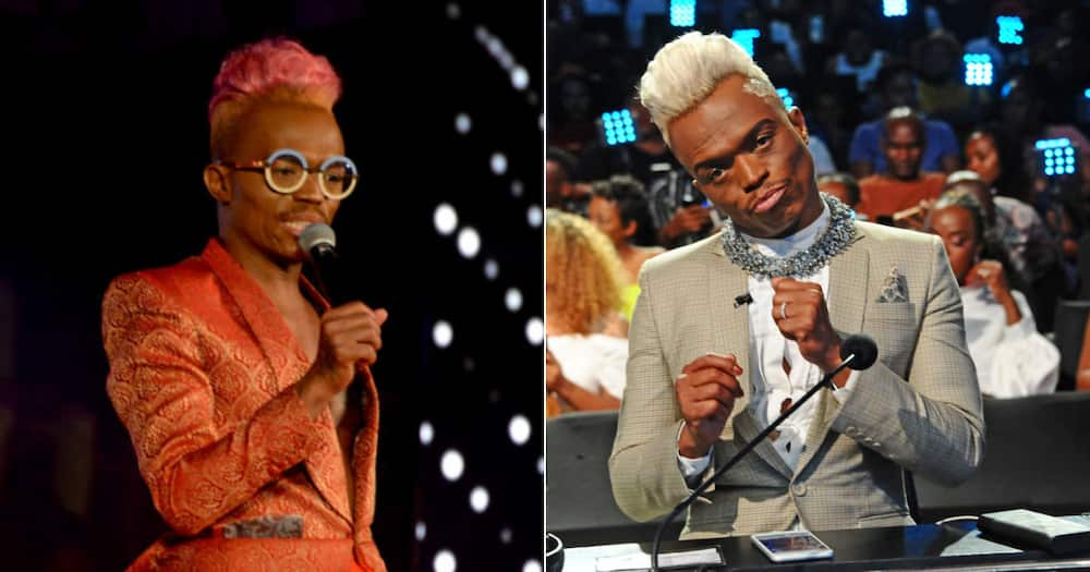 Somizi has made big strides since first entering the world of Mzansi's entertainment landscape as a fresh-faced teen. Image: Photo by Oupa Bopape/ Frennie Shivambu via Gallo Images.